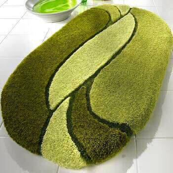 moss green bath mat vitafutura.com