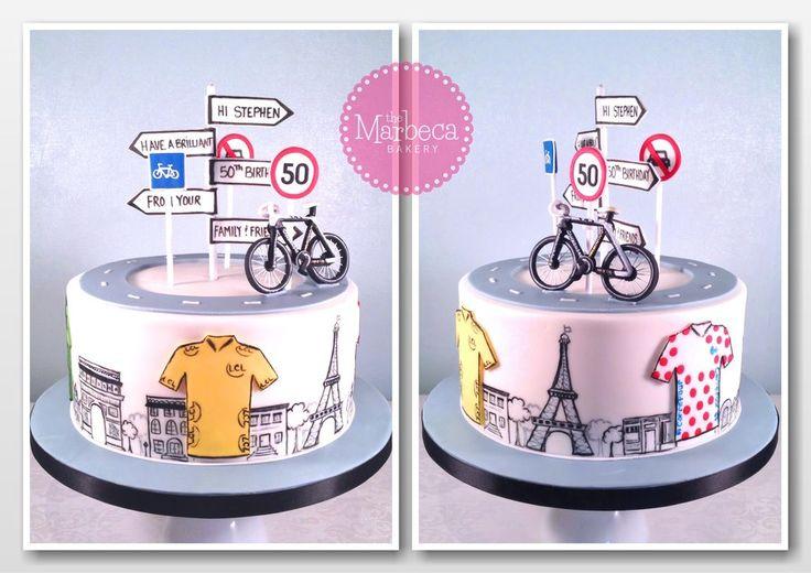 Cycling/Tour de France Cake