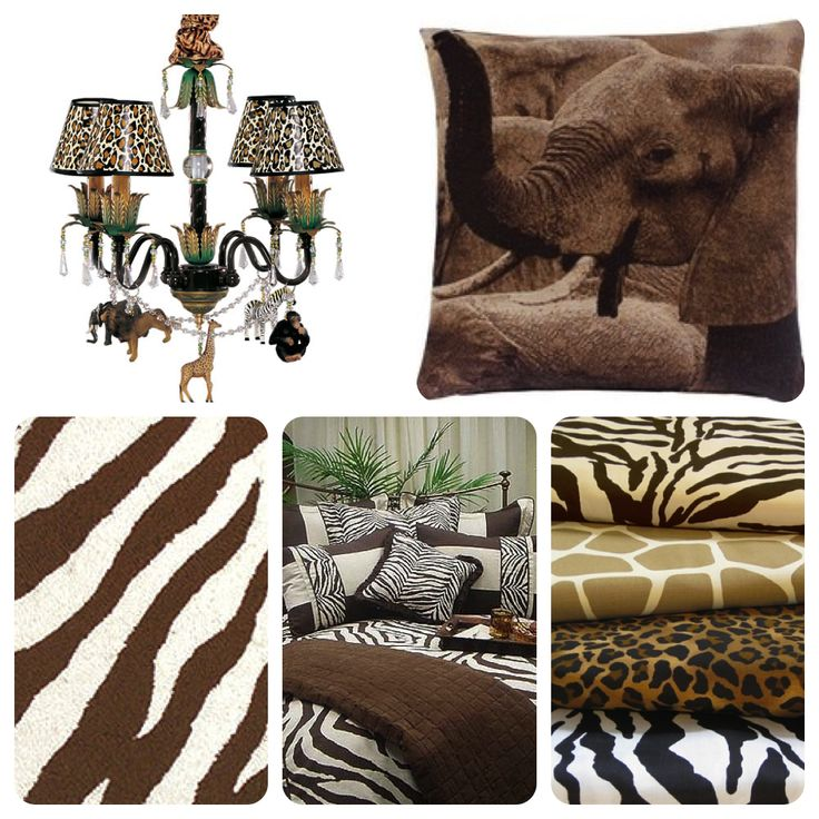 Safari Chic - Room Themes
