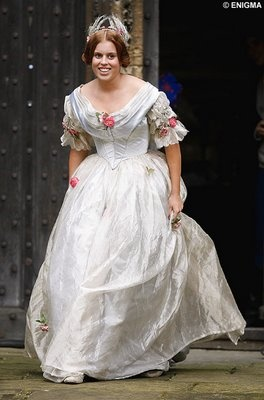 Princess Beatrice. She looks JUST LIKE a young Queen Victoria. Its almost scary how identical they are!
