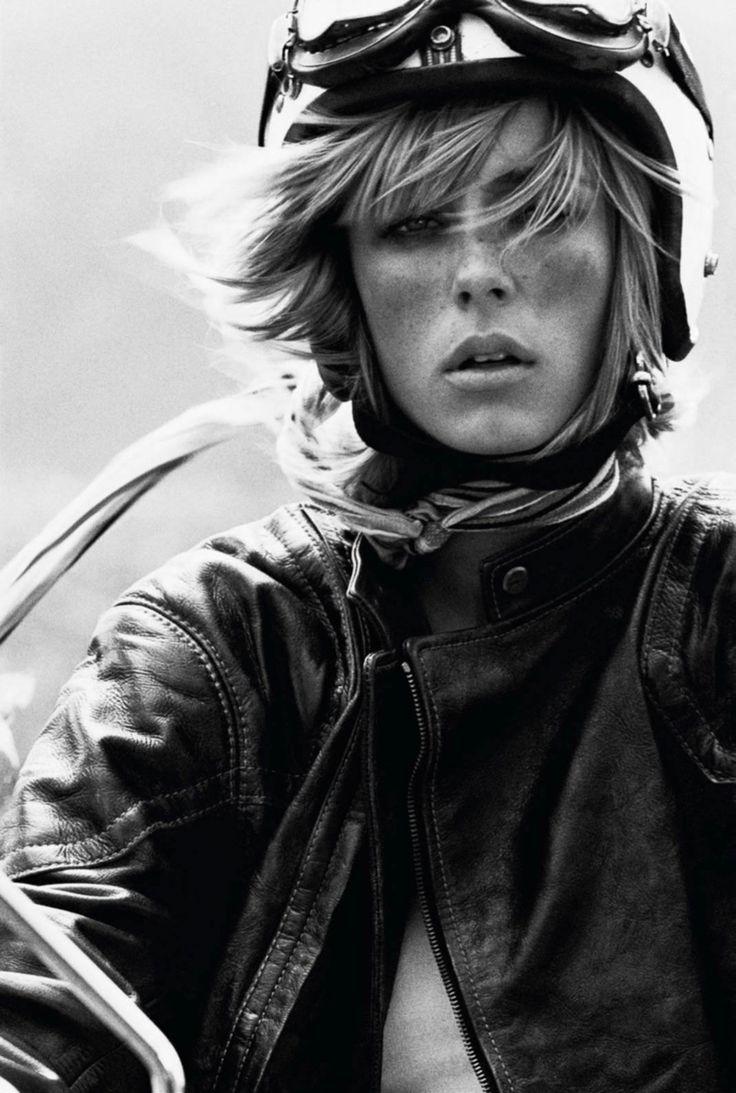 Edie Campbell by Mikael Jansson, Vogue Paris March 2017