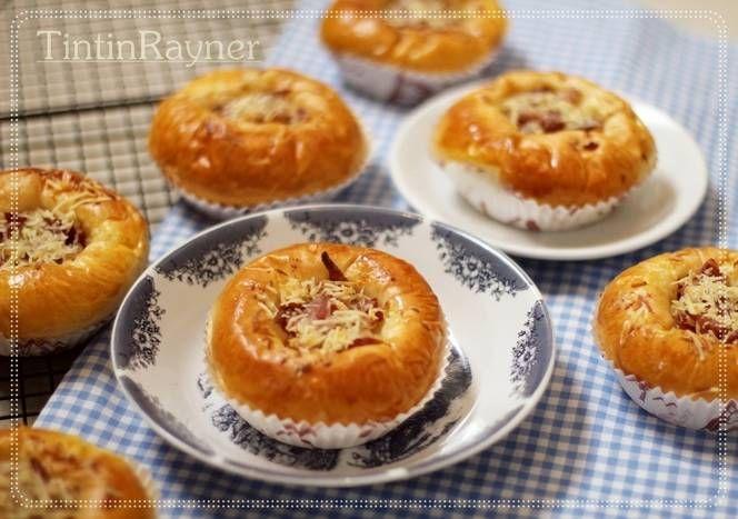 Roti Daging Asap Keju empux favorit papa juga ;)