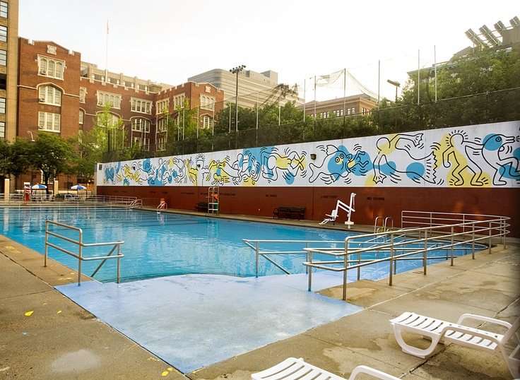 17 best images about keith haring 1958 1990 on pinterest for Mural village