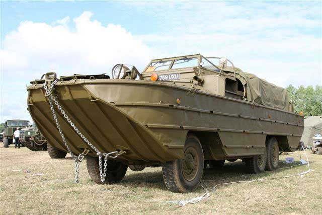 DUKW Amphibious Military Vehicle