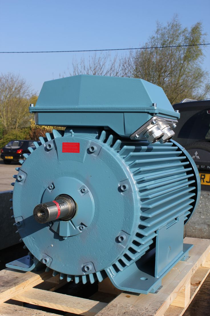 Abb Motor Arrives At Gibbons For A Rewind Amp Repair