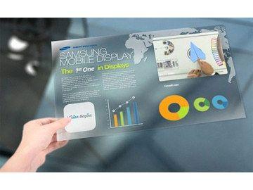 CES 2011 : écran Samsung AMOLED transparent, 19 pouces, 4K