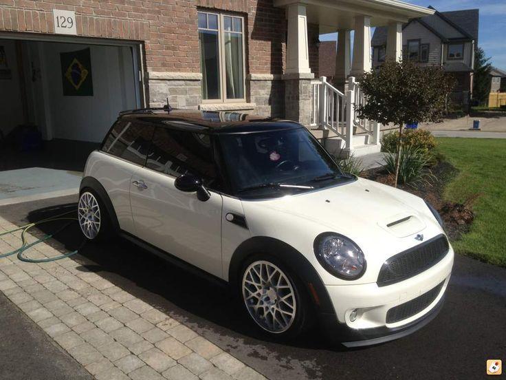 Pepper white mini cooper s ..... love this mini :) :)