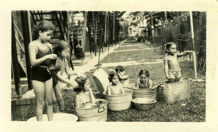 Keeping cool in West Philadelphia, 1936