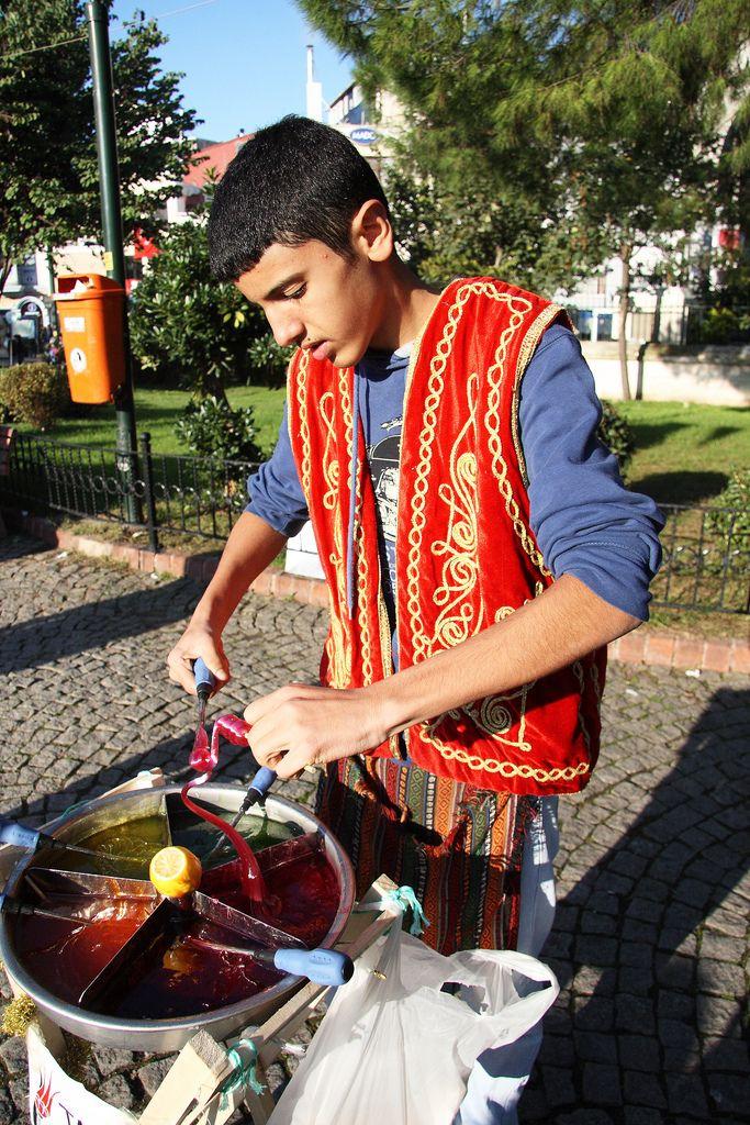 street food, Istanbul, Turkey