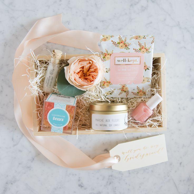 Best 20 Bridesmaid Gift Baskets Ideas On Pinterest