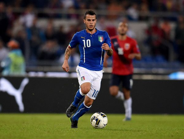 Sebastian Giovinco of Italy #10 in action during the UEFA EURO 2016 Qualifier between Italy and Norway at Olimpico Stadium on October 13, 2015 in Rome, Italy. - Italy v Norway - UEFA EURO 2016 Qualifier