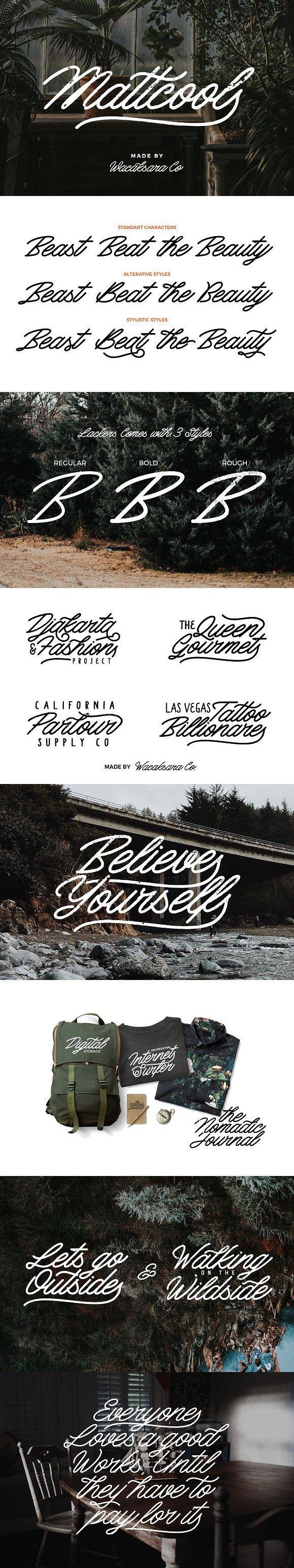 Mattcool Script. Best Fonts Cool fonts, Handwritten