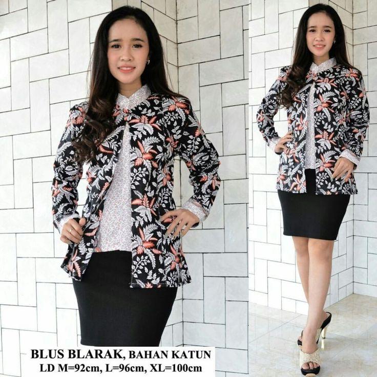 Contoh Desain Baju Batik Modern di 2020 | Model baju ...