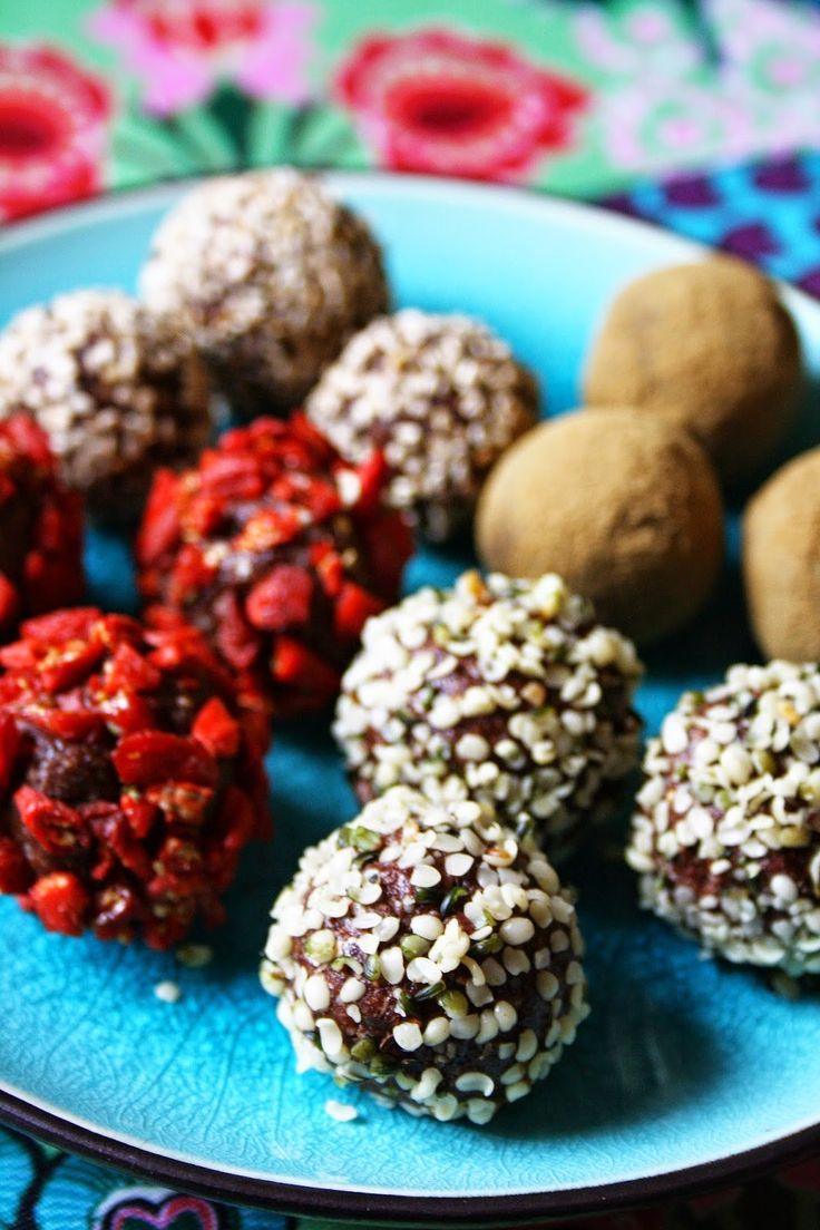 Mitt Gröna Kök: Nyttiga chokladbollar