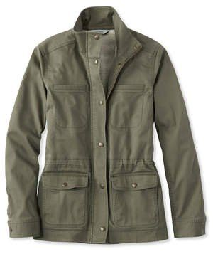 L. L. Bean Classic Sherpa-Lined Utility Jacket | Lined with a warm and snuggly faux-sherpa material, this pick is an essential for outdoor autumn activities like farmers' markets and tailgates. Also available in plus and petite sizing.