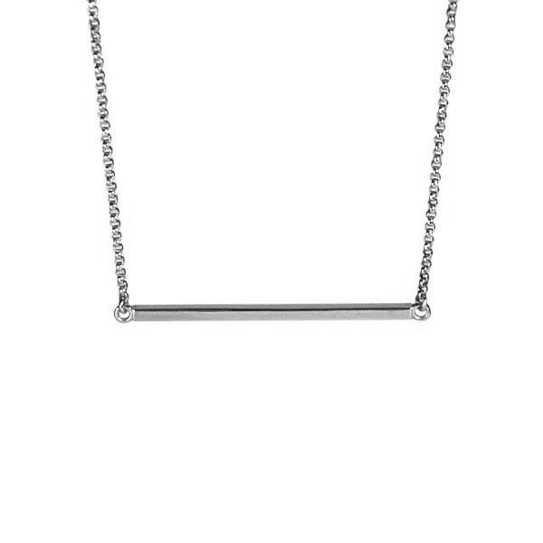 Horizon Necklace / Silver