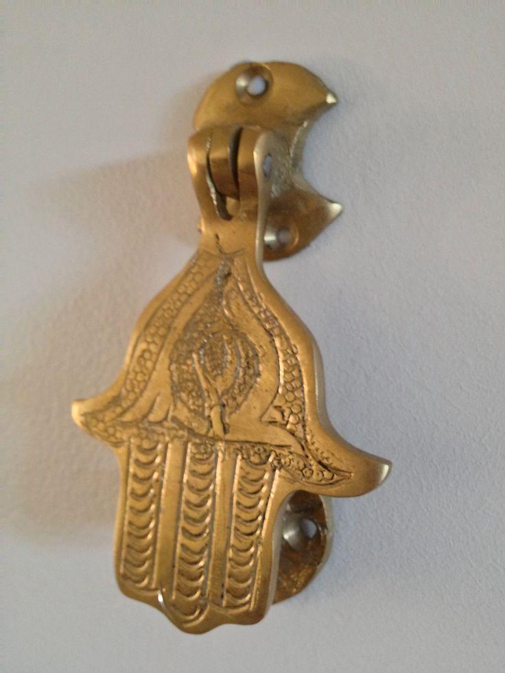 Hasma, Hand of Fatima door nock/bell.