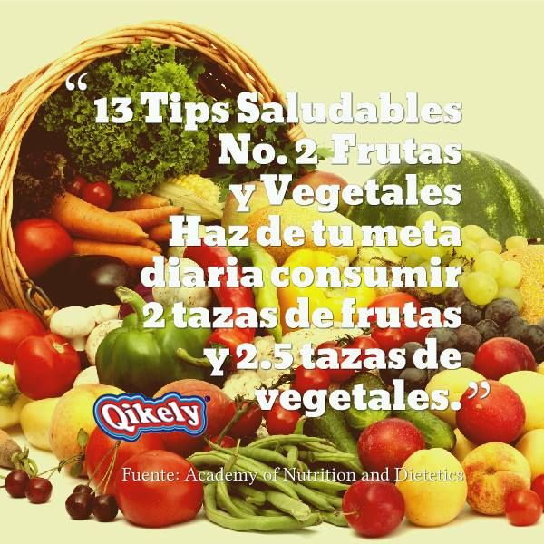 Consume Frutas y Vegetales!