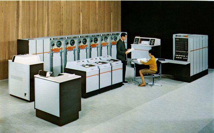 Univac 9400 - 1969 (via Musée de l'Informatique)