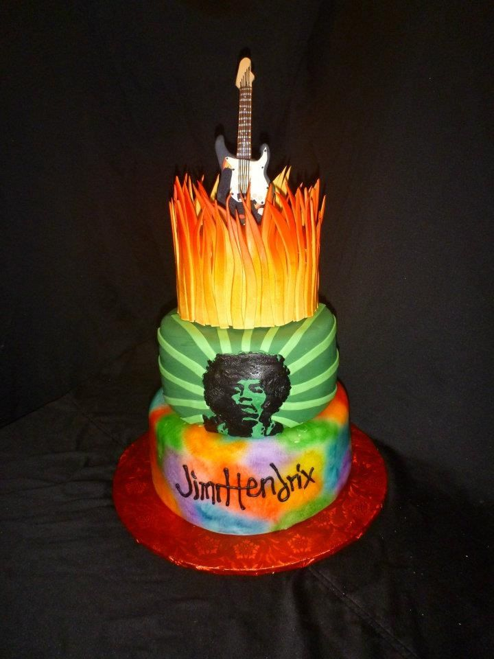 Jimi Hendrix Cake By Sugar N Slice Cakes In Decatur Ga