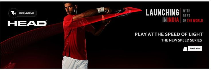 Tennis hub.in is a Dedicated online Tennis store, Buy Head Tennis Racquets Online With us and get special discounts on head racquets.