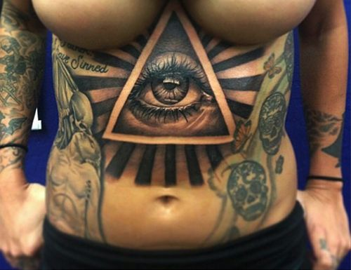 305 Best Images About All Seeing Eye Tattoos On Pinterest
