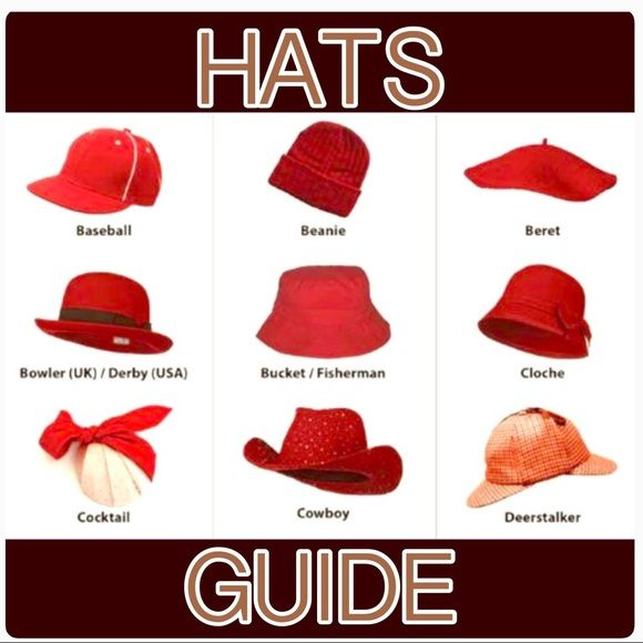 ❤️HATS GUIDE❤️ ❤️Isn't this GREAT!!! 👏👏👏 My friend @sesimo61 posted her Hat Guide first. Soon after, I asked to copy it. Thanks! ❤️ I just updated mine this Spring 2017. My HATS🕵🏼♀️👨🏼🌾👲🏽👩🏽🌾💂🏽♀️GUIDE is Great for general knowledge, especially if you're a Hat❤️Lover like US! Also, I SELL (and/or already SOLD) SEVERAL of the different HAT 🕵🏼♀️👨🏼🌾👲🏽👩🏽🌾💂🏽♀️STYLES listed...in BOTH of MY CLOSETS: @marlanap & @marlanap4kids!!!👍🏼 PLZ Check out My Hats while you…