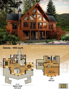 Elegant Canadian Log Homes.... Dakota Kit.... Turn Key