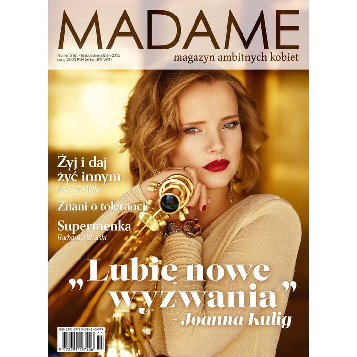 Zjawiskowa Joanna Kulig w sukni Thecadess na okładce nowego numeru magazynu Madame @radekrocinski @piotrsalata #thecadess #thecadess_warssaw #fashion #thecadesscom #dress #fashion