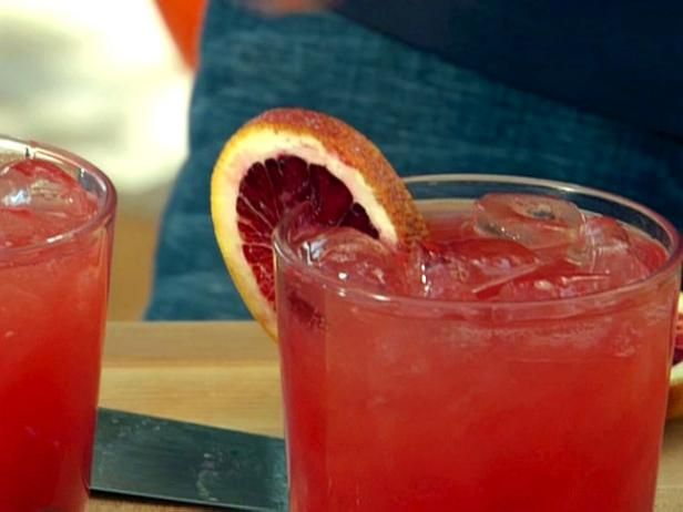 Campari and Blood Orange Cocktail : Deep red blood orange juice is the perfect complement to bitter-edged Campari, and a hint of orange soda adds subtle sweetness and fizz.