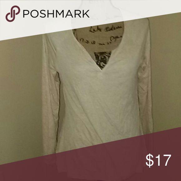 Women's cream shirt hippie rose nwt Women's long sleeve cream shirt hippie rose size s nwt Hippie Rose Tops Tees - Long Sleeve