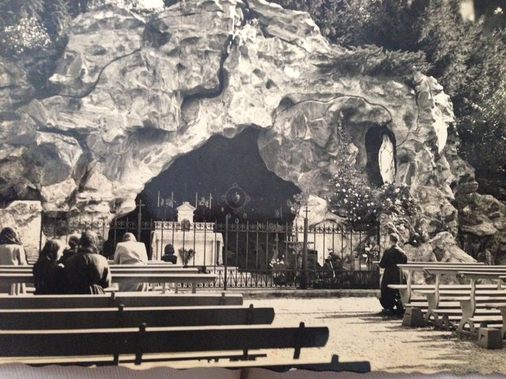 Grotto by the Cannero Riviera, Italy