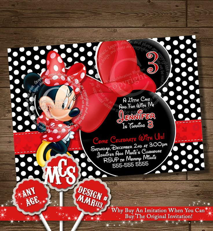 93 best ~ Minnie Mouse Parties ~ images on Pinterest | Minnie mouse ...