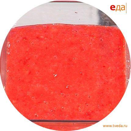 Десертный клубничный соус