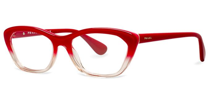 Prada Red Frame Glasses : 17 Best ideas about Cat Eye Glasses on Pinterest Glasses ...