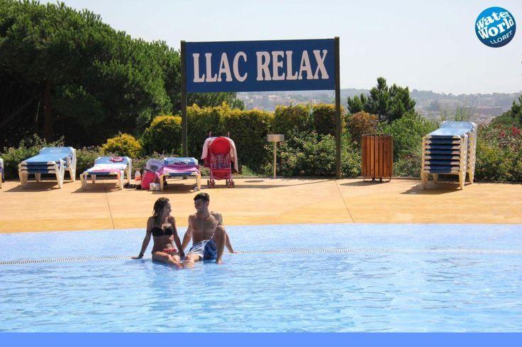 El Fantàstic Llac Relax. #WaterWorldParc #LloretdeMar www.WaterWorld.es