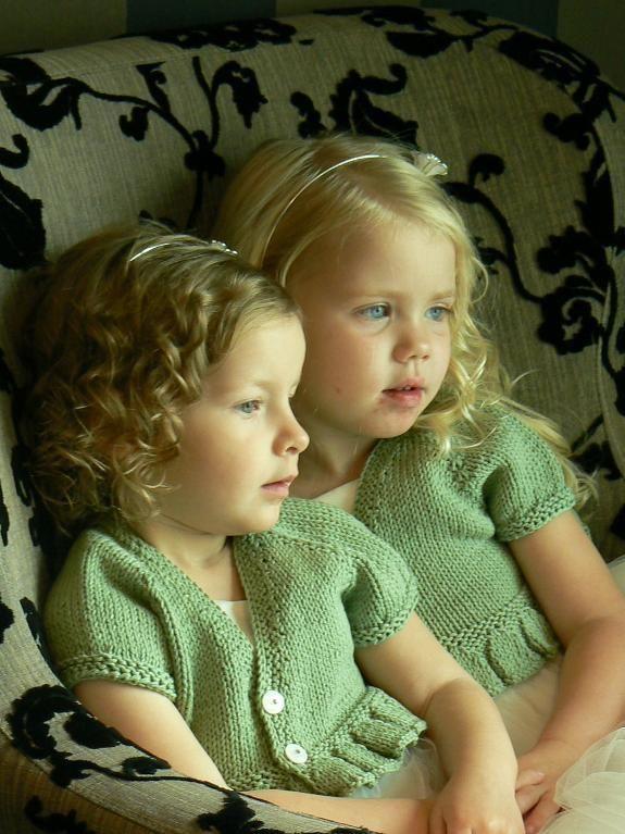 (6) Name: 'Knitting : Blossom Bolero Ebook -Baby + Child sizes