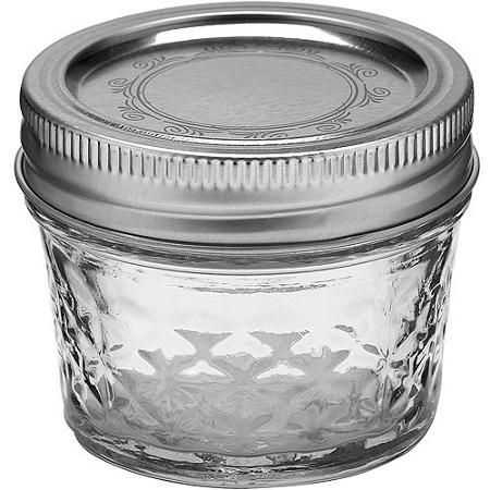 Ball 12-Count 4-Ounce Jelly Jars with Lids and Bands * Great for small spice storage and only $10.49 for a set of 12!