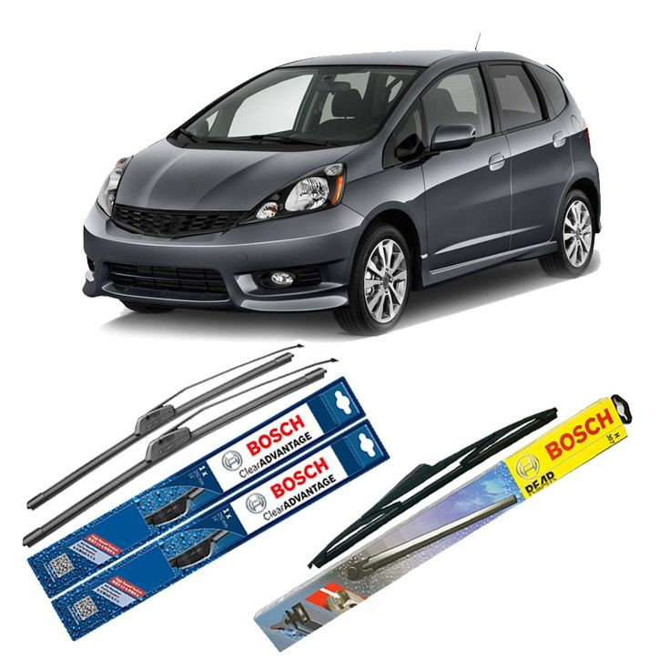 "Bosch Wiper Depan Frameless Clear Advantage & Belakang u/ Mobil Honda Fit GD 24"" & 14"" + H306 - 3 Pcs/Set  Frameless Umur Pakai & Daya Tahan Lebih Lama Penyapuan kaca yang senyap Performa Sapuan Optimal Instalasi Mudah & Cepat Original Produk Bosch  http://klikonderdil.com/frame-less/1232-bosch-wiper-depan-frameless-clear-advantage-belakang-u-mobil-honda-fit-gd-24-14-h306-3-pcsset.html  #bosch #wiper #jualwiper #frameless #hondafitgd"