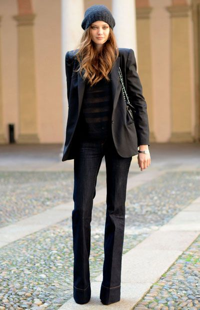 Flare Jeans...love these. I'm think I'm kinda done with the skinny jeans.