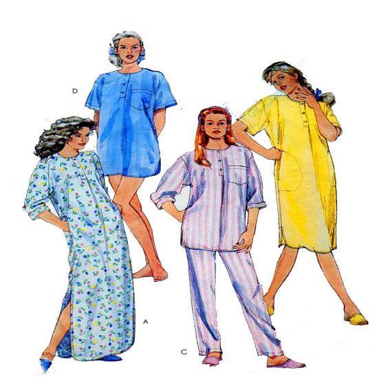 Women Sleepwear Nightgown Lounge Set Pajamas Nightshirt