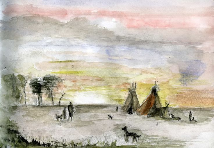Western school pittura americana