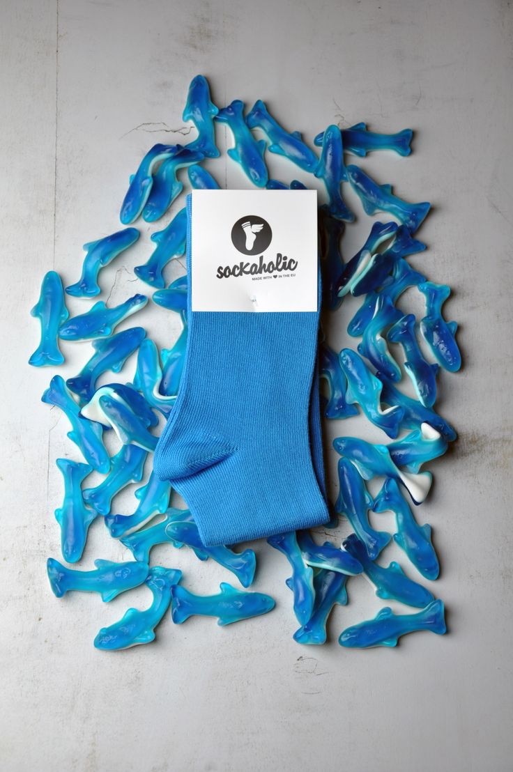 Blue #socks #sweet #sockaholic #dolphin #feelthecolor #color #cool