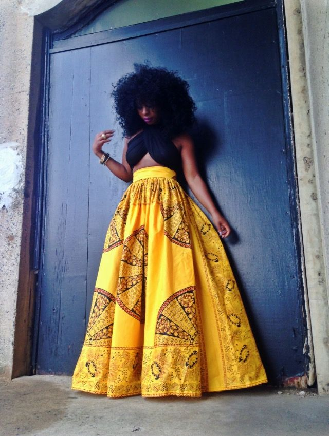 Mellow Yellow Maxi Skirt