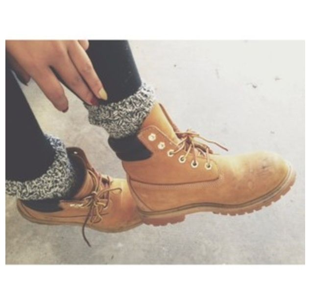 grab some boots, boot socks, and black leggings