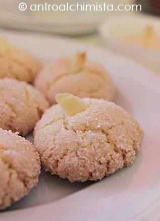 Amaretti Sardi - Sardinia Amaretto Biscuits