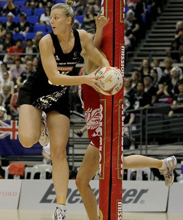 Silver Ferns get down to trials business - Katrina Grant form the central pulse