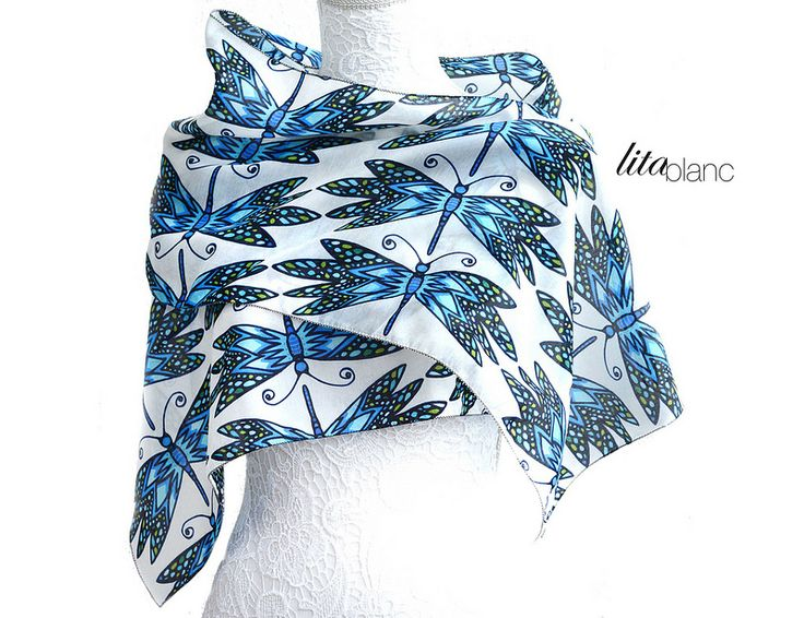 Nouvelle Collection Foulards + Lita Blanc http://www.alittlemarket.com/boutique/lita_blanc-34641.html