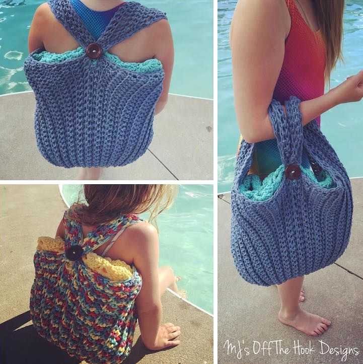 One of the best things about summer is the water—whether it's hanging by the pool or oceanside, splashing around in the water is the best way to beat the heat. For those who spend most of this season in a bathing suit, you might just wish you were a mermaid. Thanks to MJ of MJ's Off the Hook Designs, now you can. The Canadian crocheter recently created a pattern for a mermaid tail towel that drapes over your legs, allowing you to pretend you're the mythical creature of your dreams. This…