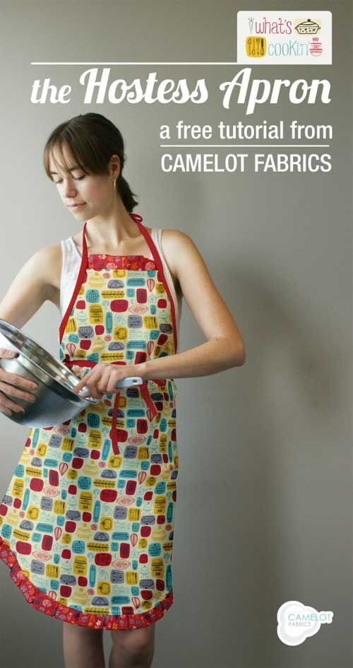 Hostess Apron - Free Sewing Pattern